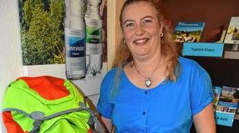 """""""Das Signal ist überfällig"""": RTG-Geschäftsführerin Gunia Wassmer hofft, dass Touristen bald wieder ihren Rucksack für einen Urlaub im Renchtal packen dürfen."""