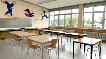 Sechs solcher Klassenzimmer und verschiedene Nebenräume warten in der ehemaligen Werkrealschule auf ein Nachnutzungskonzept. Der Ortschaftsrat wehrt sich gegen die Aussage der Stadt, dass das für den Betrieb einer Grundschul-Außenstelle nicht ausreichen würde.