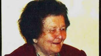 Elisabeth Kuderer war Ebersweiers Dörfälteste. Wenige Wochen vor ihrem 99. Geburtstag ist sie nun verstorben