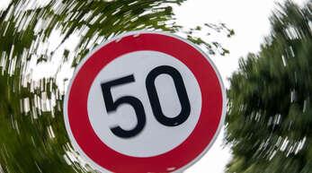 Tempo-50-Schild.