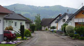 Die Straße mit dem Namen Sternenacker wurde Anfang der 1970er-Jahre erbaut.