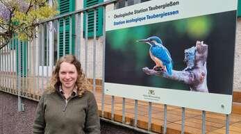 Cosima Zeller ist die neue Rangerin des Naturschutzgebiets Taubergießen.
