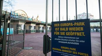 Die Öffnung des Europa-Parks rückt näher.