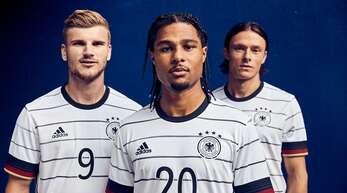 Das sind die deutschen Trikots für die Fußball-EM 2021.