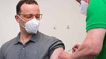 Jens Spahn wurde am Freitag geimpft.