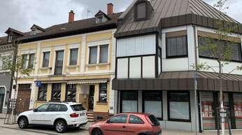 """Die Sparkasse Hanauerland möchte das """"gelbe Haus"""" durch ein modernes Gebäude ersetzen."""