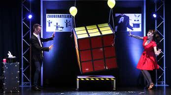 Der Großillusionist Willi Auerbach und seine Partnerin Elena Auerbach freuen sich auf die LIve-Auftritte im Sommer.
