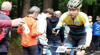 Die Formkurve zeigt bei Stephan Mayer steil nach oben. Platz 7 brachten 30 Weltcup-Punkte bei der UCI-Junior-Series in Guret.