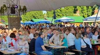 So eng und voll wird es beim Durbacher Weinfest dieses Jahr wegen der Corona-Auflagen jedoch nicht.