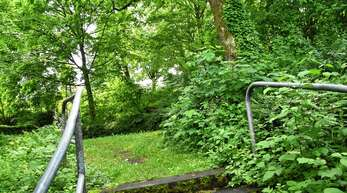 Die ehemalige Spielplatzfläche in der Albersbacher Straße soll reaktiviert werden.