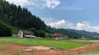 Mehrkosten gibt es beim Stadionbau in Haslach.