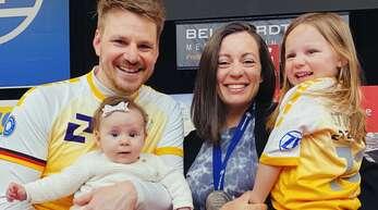 Die Familie hat nun Vorrang: Markus, Julianne, Paloma und Stella Steuerwald.