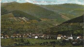 So wie auf dieser alten Postkarte abgebildet, sah Bollenbach um das Jahr 1915 aus.
