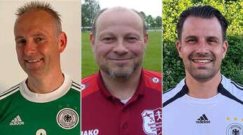 Fiebern heute mit der deutschen Nationalmannschaft mit (von links): Ralf Krämer von der Spielvereinigung Kehl-Sundheim, Göran Richter vom SV Neumühl und Stefan Hochwald vom VfR Willstätt, alle Vereinsvorsitzende.