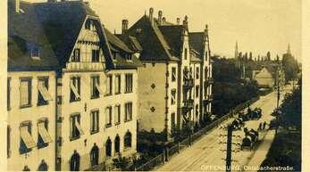 """Auf der Postkarte steht geschrieben: """"Offenburg, Ohlsbacherstraße"""". Doch so eine Straße hat es in Offenburg nie gegeben. Offensichtlich wurde in dem Namen das """"B"""" verschluckt. Wolfgang Reinbold hat das Foto für uns eingeordnet."""