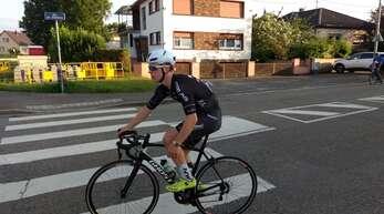 Belle-Neuzugang Lasse Reuss auf dem Weg zu Rang 6 in Vendenheim.