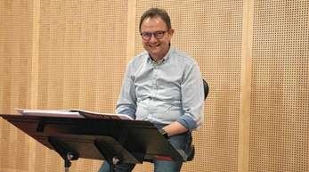 Zeno Peters leitet seit 20 Jahren die Stadtkapelle Oberkirch. Die ARZ sprach mit ihm im Vorfeld der ersten Probe mit dem Gesamtorchester seit langer Zeit .