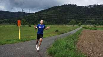 Die flache Strecke beim Sommerlauf in Schwaibach eignet sich optimal fürschnelle Zeiten.