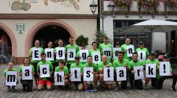"""Lebenshilfe und Club 82 unterstützen den Kinzigtallauf seit mehreren Jahren – der Erlös des """"Haslacher Lebens-Laufs"""" soll an diese Einrichtungen gespendet werden."""