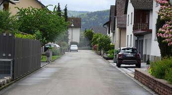 Die Straße Im Kirchgrün wurde 1961 für das dortige Baugebiet angelegt.