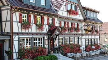 """Der """"Engel"""" ist einer der Anziehungspunkte für Touristen, die nach Sasbachwalden kommen."""