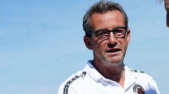 Will mit dem SV Linx ins Pokal-Finale: Trainer Thomas Leberer.