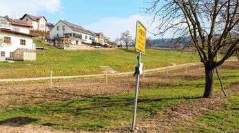 120 Bewerber für sieben Plätze: Das Baugebiet Tanzberg in Tiergarten ist begehrt. Der Ortschaftsrat will trotzdem zum Selbstkostenpreis verkaufen.