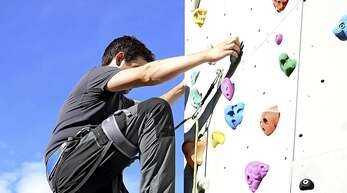 Der Kletterturm des Alpenvereins kann wieder genutzt werden