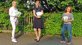 Stellten gut gelaunt das gemeinsame Ferienprogramm für Rammersweier und Zell-Weierbach vor (von links): Monika Hurst, Dorothea von Trotha, Sonja Bürkle.