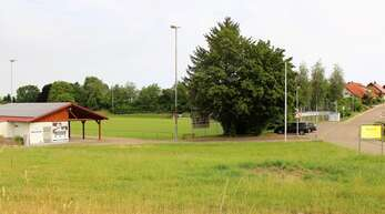 Parkplätze könnten am Sportplatz Haslach-Tiergarten entstehen.