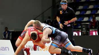 Nikita Ovsjanikov (r.) von der RG Lahr wurde erst im Finale gestoppt.