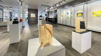 Auch Werke des bekannten Künstlers Werner Ewers sind wieder einmal in Kehl zu sehen.