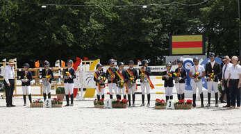 Die Meister und Platzierten der südbadischen Meisterschaften im Rahmen der 41. Ichenheim Classics.