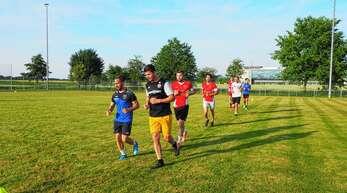 Der FV Gamshurst hat sein Training wieder aufgenommen.