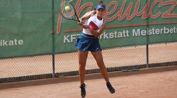 Tennis / TC BW Oberweier - TC BW Villingen, Melisa Ercan