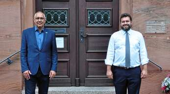 Der Bundestagskandidat der Grünen für den Wahlkreis Schwarzwald-Baar/Oberes Kinzigtal, Thomas Bleile, stattete Oberwolfachs Bürgermeister Matthias Bauernfeind einen Besuch ab.