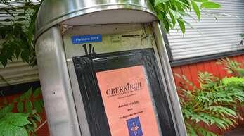 """""""Defekt"""" ohne Nebenwirkung: Derzeit werden die Parkscheinautomaten ohnehin nicht gebraucht, weil der Gemeinderat die Parkgebühren erneut ausgesetzt hat."""