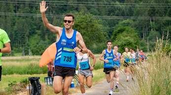 Jonas Lehmann von den Roadrunners Südbaden wurde Dritter über 10 Kilometer.
