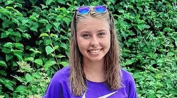 Alessa Mnich hat ihre persönlichen Bestzeiten über 100 m Freistil und 100 m Rücken in Stuttgart verbessert.