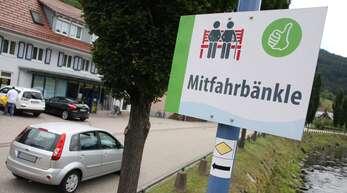 Als Alternative zum öffentlichen Nahverkehr wurden in Oberwolfach bereits die Mitfahrbänkle ins Leben gerufen.