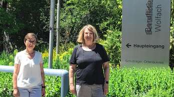 Die Stellvertretende Schulleiterin Michaela Rieger-Motzer (links) und Abteilungsleiterin Barbara Baumann bieten individuelle Beratung für alle Wiederholer und Schulwechsler an.