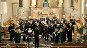 Der Durbacher Kirchenchor St. Heinrich steht für Qualität. Er wurde sogar schon von vier Posaunisten des Leipziger Gewandhausorchesters begleitet.