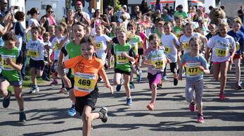 Massenstarts kann es zu Pandemie-Zeiten nicht geben. Stattdessen werden die Läufer im Halb-Minuten-Takt auf den Rundkurs geschickt.