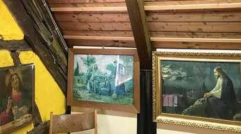 """Im Steinacher Museum gibt es in dieser Saison eine Sonderausstellung zum Thema """"Bild-Tafeln gab's in jedem Haus – populäre Gebrauchskunst von damals"""" zu sehen."""