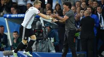 Bei der EM 2016 gewann Deutschland sein Auftaktspiel gegen die Ukraine. Bastian Schweinsteiger erzielte das Tor zum 2:0-Endstand
