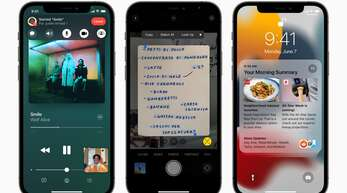 Mit dem Update auf iOS 15 bringt Apple viele Neuerungen auf die iPhones.