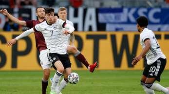 Kai Havertz wird gegen Frankreich wohl auflaufen.