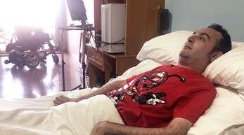 Rafael Boutella ist unterhalb des Halses gelähmt. Er befürwortet das neue Sterbehilfe-Gesetzt in Spanien.