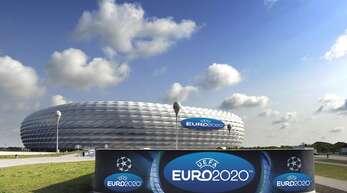 In der Münchner Arena werden zur Europameisterschaft in diesem Jahr Zuschauer zugelassen. (Archivbild)