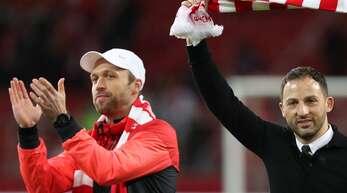 Andreas Hinkel (li.) trainiere bis vor Kurzem gemeinsam mit Domenico Tedesco das Team von Spartak Moskau.